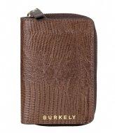 Burkely Wallet S Dark brown armadillo (20)