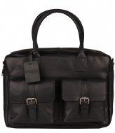 Burkely VINTAGE Finn Worker Laptop Bag 14 Inch black (10)