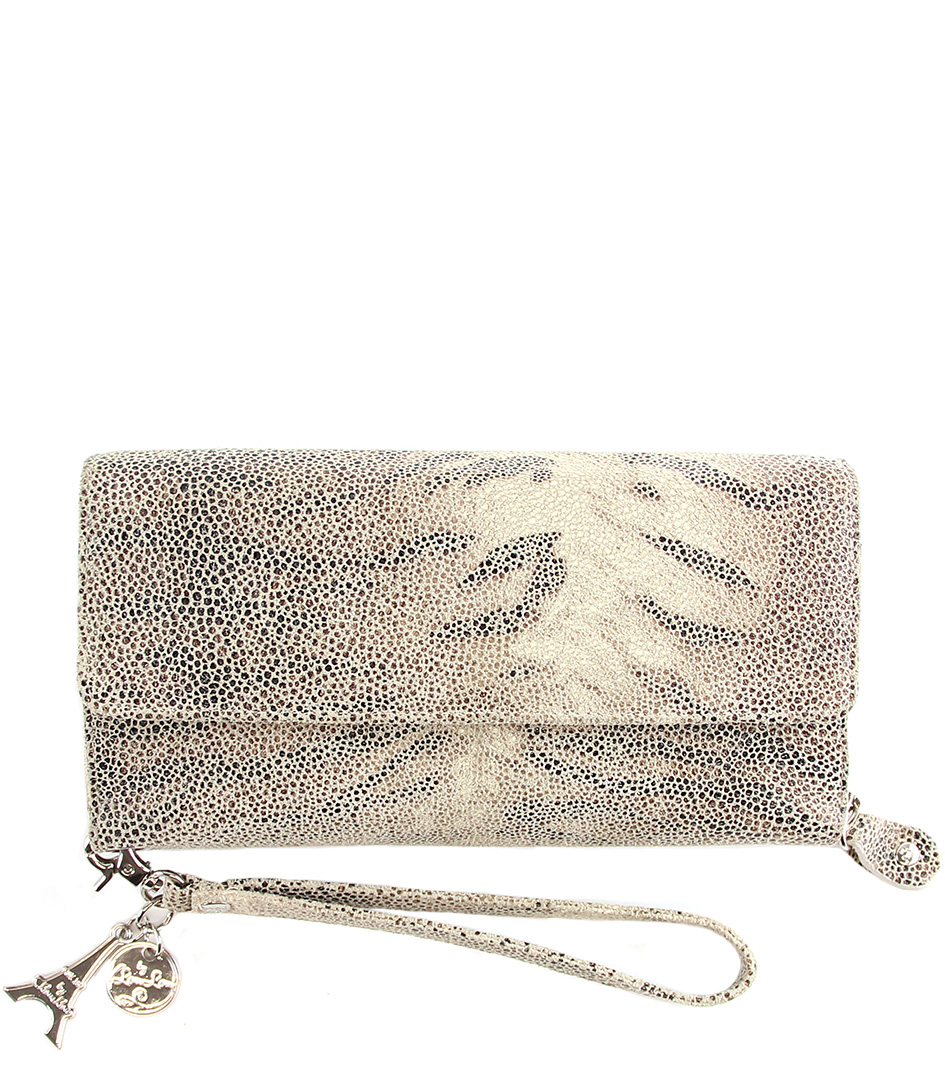 By LouLou Portemonnees SLB XL Tiger Lily Taupe