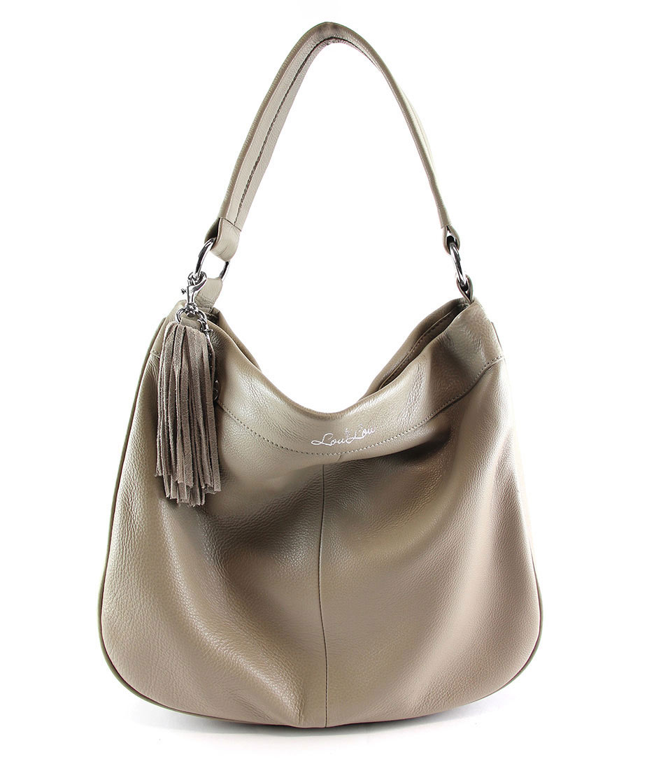 By LouLou Handtassen Bag New York Taupe