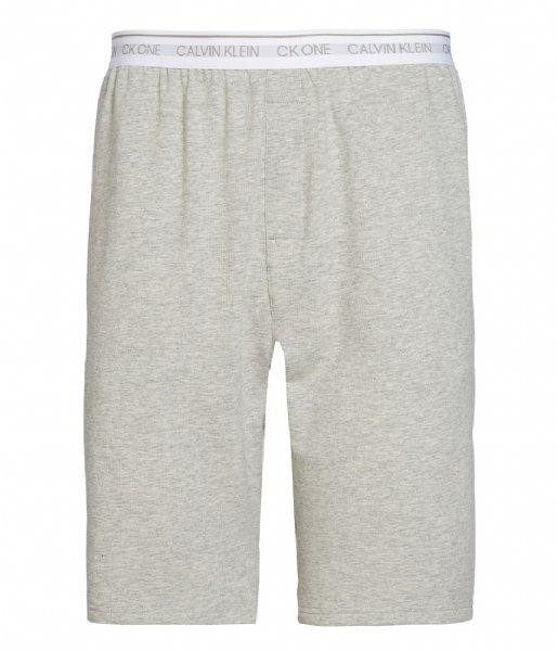 Calvin Klein Nachtmode & Loungewear Sleep Short Grey Heather (080)