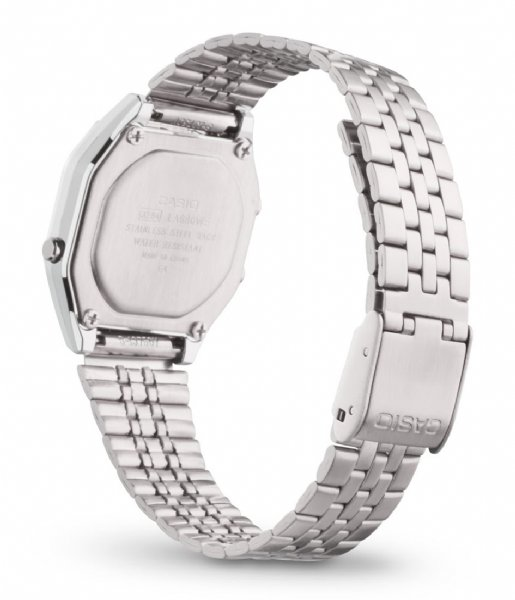 Casio Horloge LA680WEGA-9ER Vintage Iconic NOS Zilverkleurig
