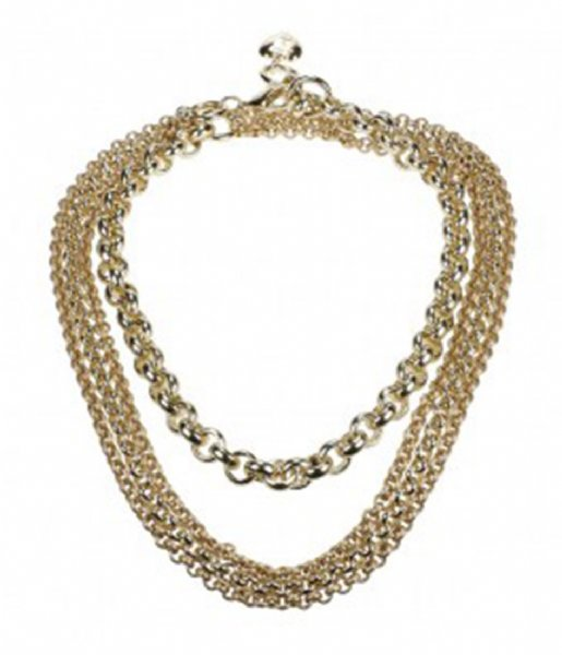 Camps en Camps Ketting Fashion Chain Long Necklace Paars