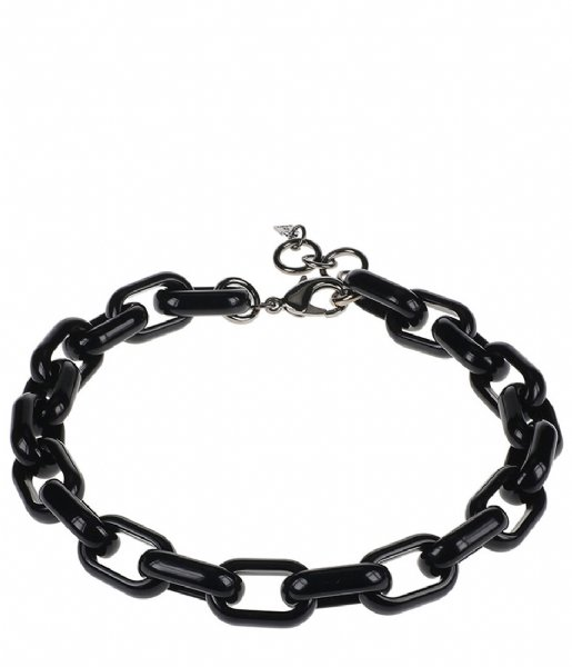 Camps en Camps Ketting Oval Link Chain Necklace Zwart