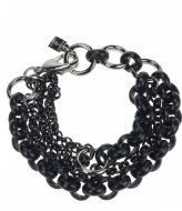 Camps en Camps Multi Fashion Bracelet Zwart
