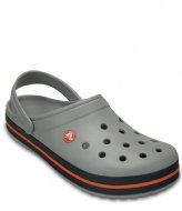 Crocs Crocband Light grey navy (01U)