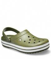 Crocs Crocband Army green white (37P)