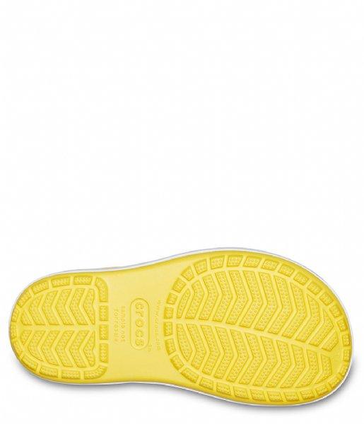 Crocs Regenlaarzen Kids Crocband Rain Boot Yellow navy (734)