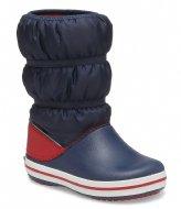 Crocs Crocband Winter Boot Navy red (485)