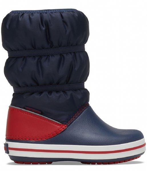 Crocs Snowboot Crocband Winter Boot Navy red (485)