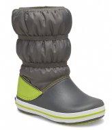 Crocs Crocband Winter Boot Slate gray lime punch (0GX)