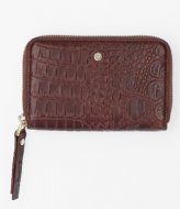 FMME Wallet Small Croco brown (021)