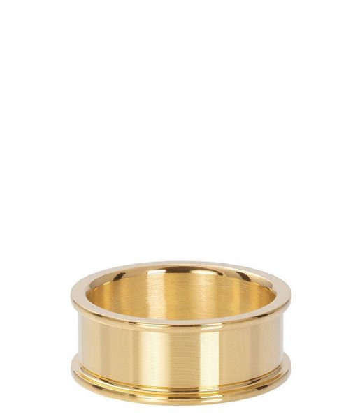iXXXi Ring Base ring 8 mm Gold colored