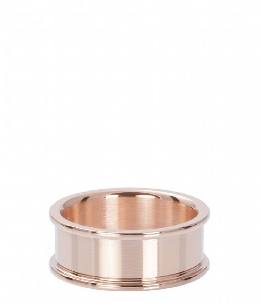 iXXXi Ring Base ring 8 mm Rose colored