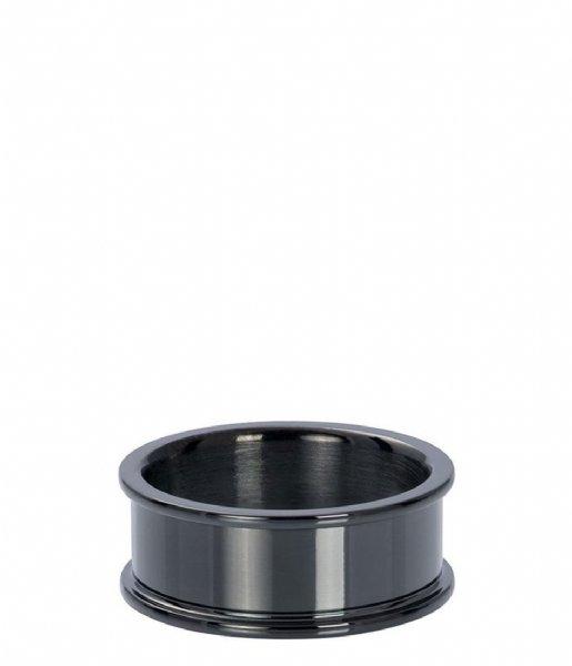 iXXXi Ring Base ring 8 mm Black