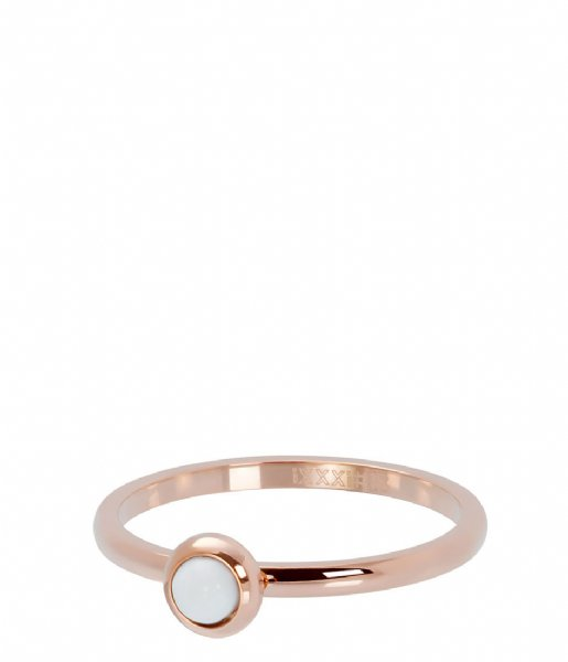 iXXXi Ring Bright white Rosé colored (02)