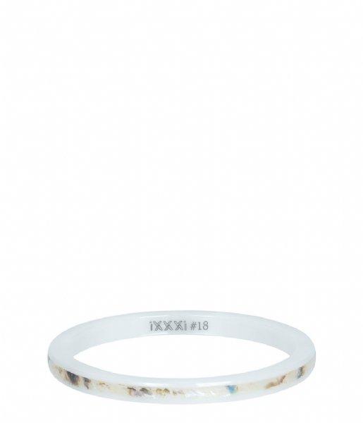 iXXXi Ring Ceramic sand shell White (06)