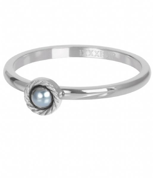 iXXXi Ring Royal Grey Silver colored (03)