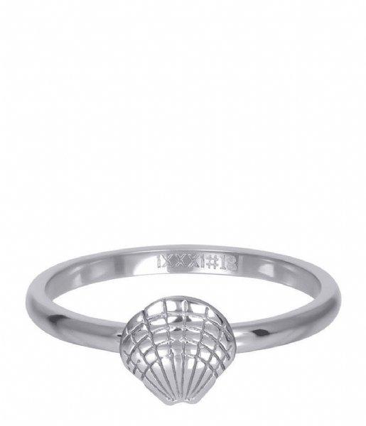 iXXXi Ring Symbol sea shell Silver colored (03)