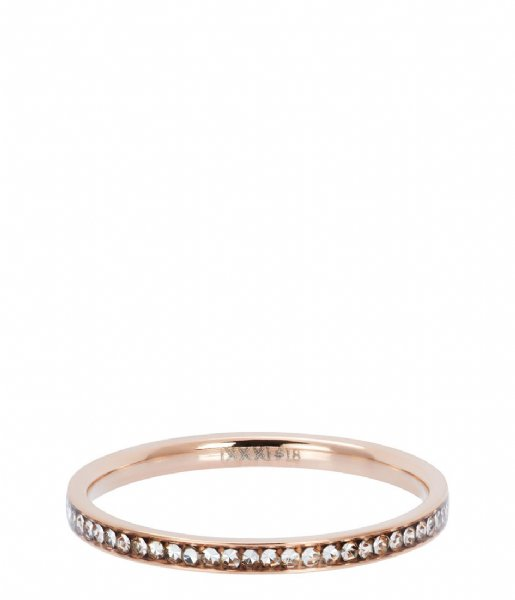 iXXXi Ring Zirconia crystal Rosé colored (02)