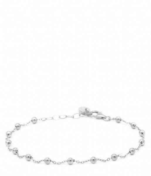 Karma Armband Karma Bracelet Dots Zilver (94019)