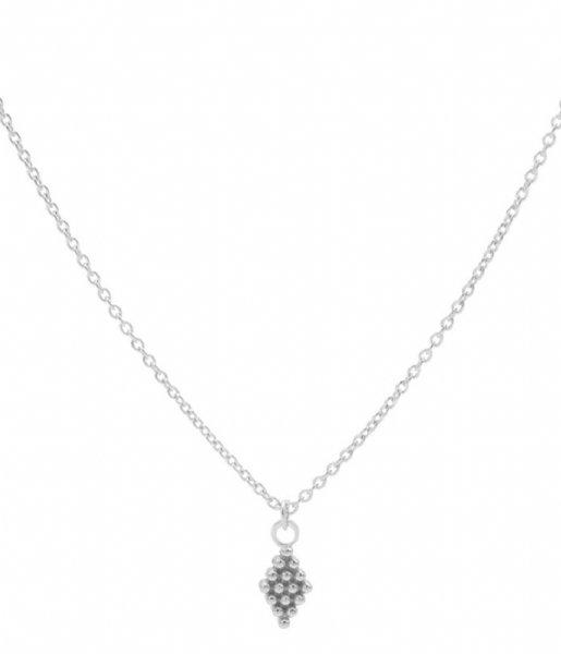 Karma Ketting Karma Necklace 10 Dots Diamond Zilver (T221)