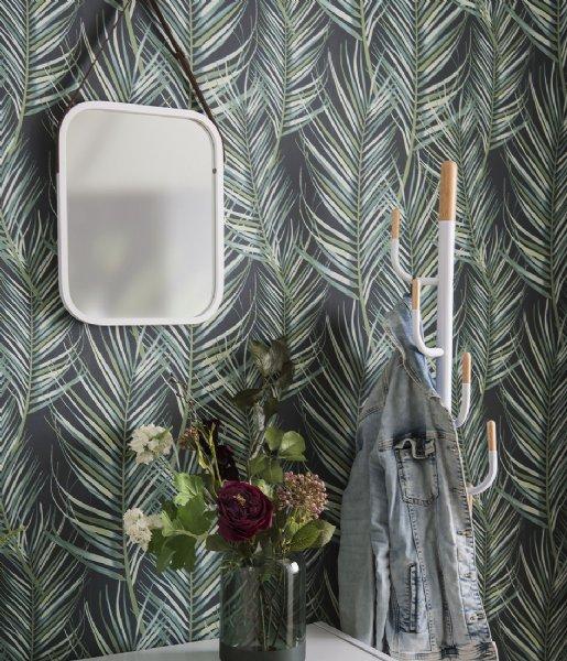 Leitmotiv Kapstok Coat rack Cactus steel white (LM1893WH)