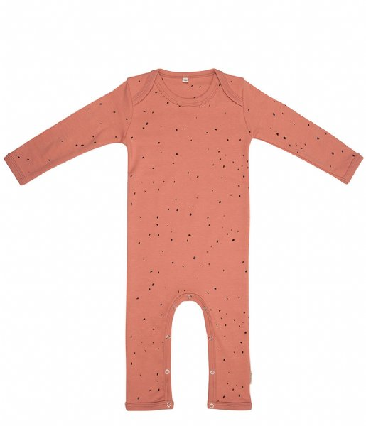 Little Indians Babykleding Jumpsuit Dots Canyon Clay (JS07-CC)