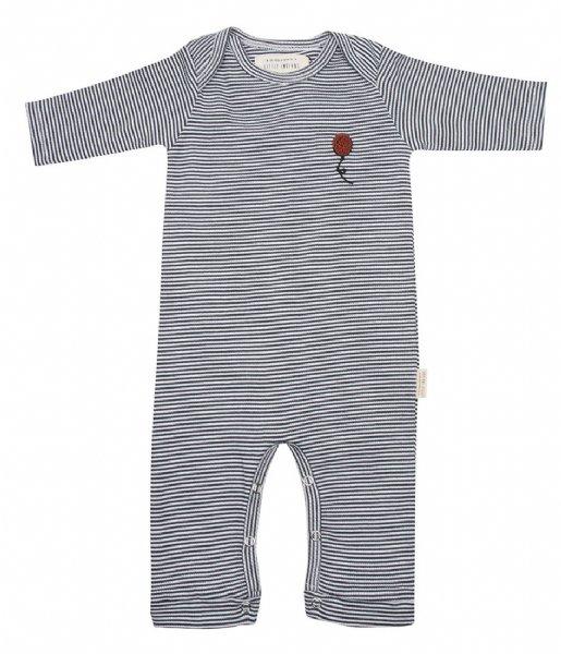 Little Indians Babykleding Jumpsuit Small Stripe Rib Small Stripe (JS11-SS)