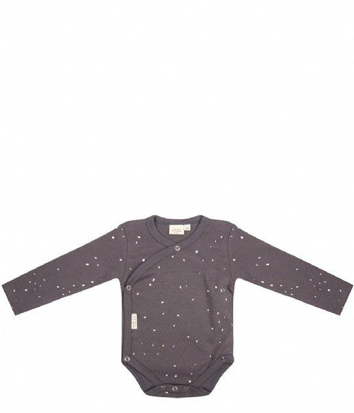 Little Indians Babykleding Onesie Longsleeve Dots Pavement (ONLS02-PAV)
