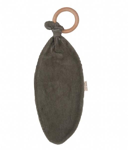 Little Indians Baby Accessoire Teether Corduroy Green (TT2105-CG)