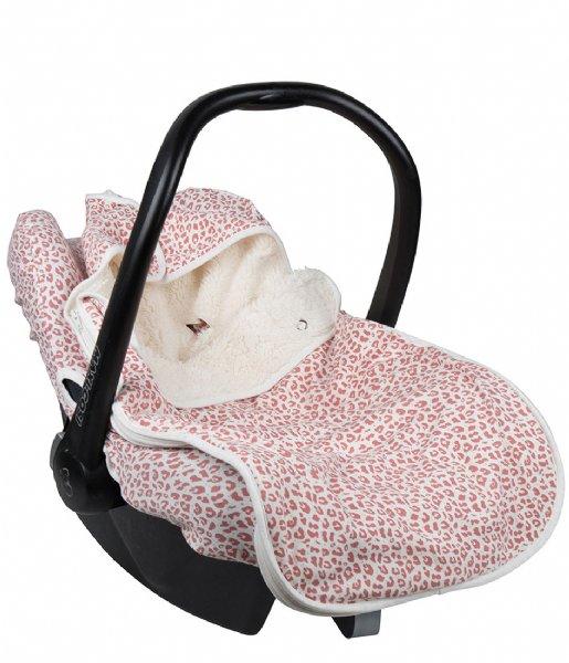 Little Indians Baby Accessoire Universal Footmuff Leopard Rose (FM01-RO)