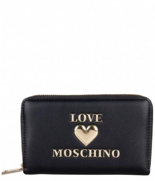 LOVE MOSCHINO Ritsportemonnee Portafogli nero LE0000Q3-20