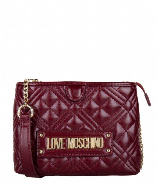 LOVE MOSCHINO Crossbodytas Borsa Quilted Nappa rosso KA0552Q3-20