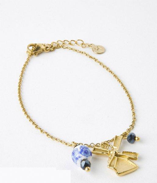 My Jewellery Armband Armband molen gold colored