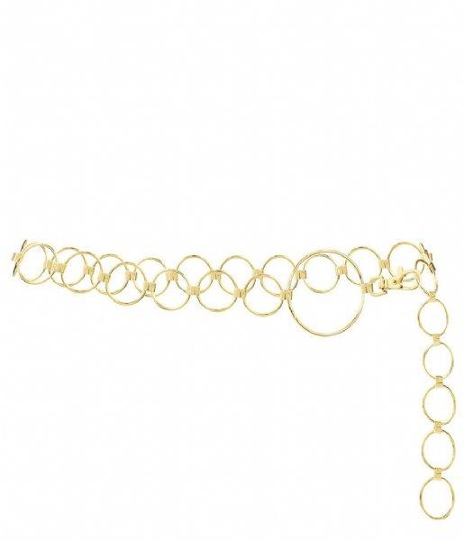My Jewellery Riem Kettingriem Grote Ringen goudkleurig (1200)