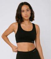 Organic Basics SilverTech Active Workout Bra black