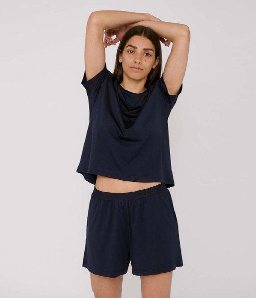 Organic Basics Nachtmode & Loungewear TENCEL Lite Shorts navy