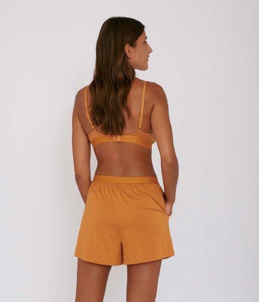 Organic Basics Nachtmode & Loungewear TENCEL Lite Shorts ocher
