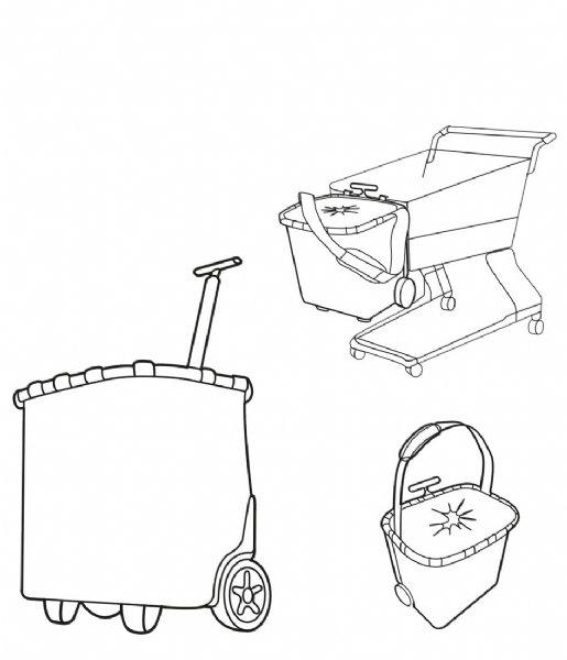 Reisenthel Boodschappentrolley Carrycruiser Boodschappentrolley graphite (OE7033)