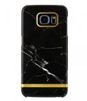 Richmond & Finch Marble Glossy Samsung Galaxy S6 Edge Zwart