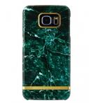 Richmond & Finch Marble Glossy Samsung Galaxy S6 Edge Groen