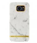 Richmond & Finch Marble Glossy Samsung Galaxy S6 Edge Wit
