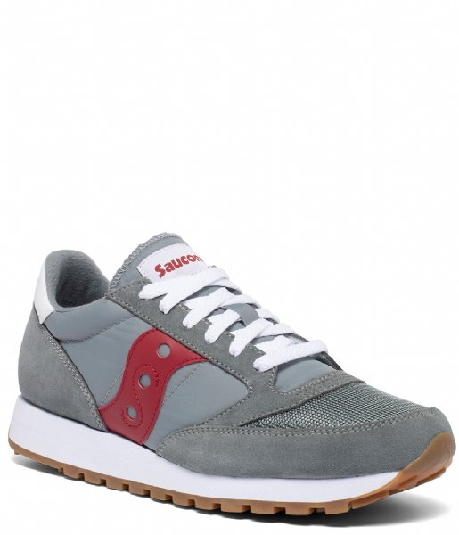 Saucony Sneakers Jazz Original Vintage Grey red (152)