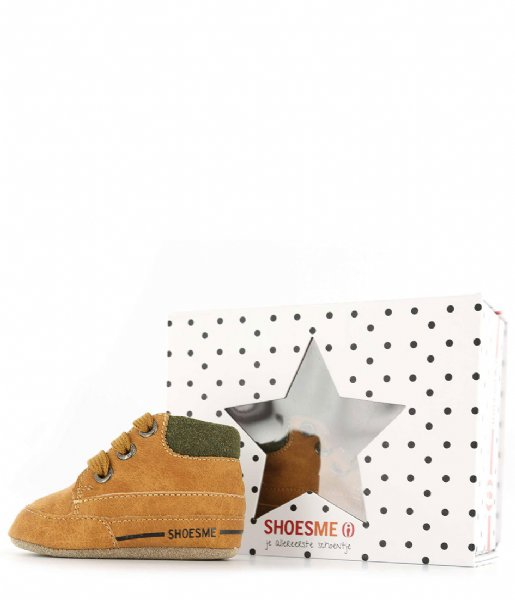 Shoesme Sneakers Baby Soft Cognac