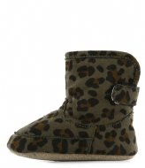 Shoesme Baby Soft Green Leopardo