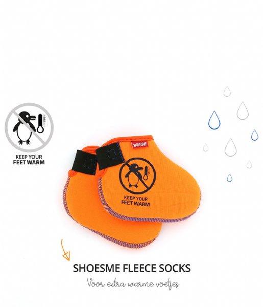 Shoesme Regenlaarzen Rubber Laars met Fleece Sock Rose