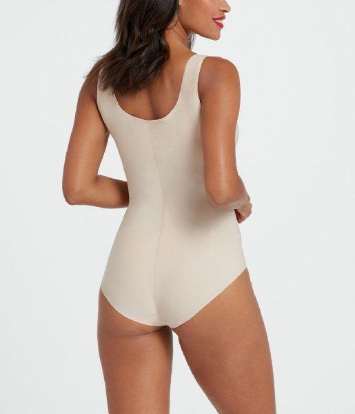 Spanx Nachtmode & Loungewear Thinstincts Bodysuit Soft Nude (2119)