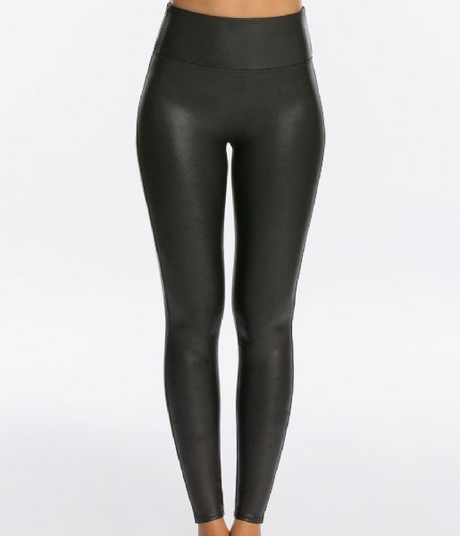 Spanx Legging Ready to Wow Faux Leather Leggings Black (9999)