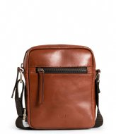 Still Nordic Clean Small Zip Messenger cognac